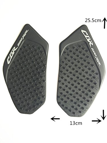 Gas Fuel Tank Pad Traction Side Knee Grip For Honda CBR 600 RR 2003-2006