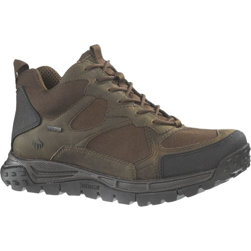 Image of the Men's Wolverine Crossbow: Wolverine Insulated Gore-Tex Waterproof Hiker (8 M in Brown/Real Brown)