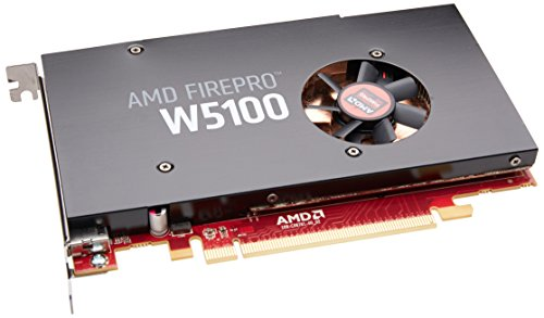 - Sapphire AMD FirePro W5100 4GB GDDR5 Quad DP PCI-Express Graphics Card 100-505737