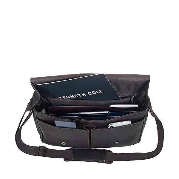 Full-Grain Colombian Leather Crossbody Laptop Case 2