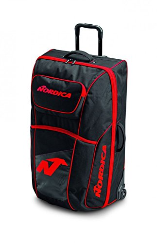 Nordica Duffle Roller - Black/Red by Nordica