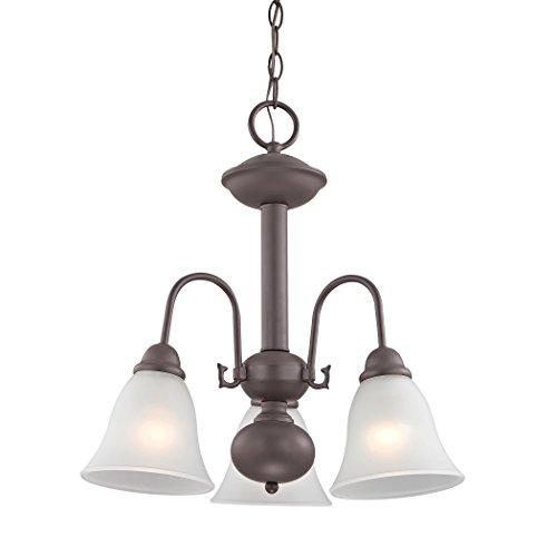 Illuminati Collection Bellingham 3 Light Chandelier In Oil Rubbed - Outlets Bellingham