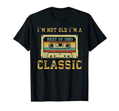 Vintage Cassette I'm Not Old I'm A Classic 1980 T-Shirt