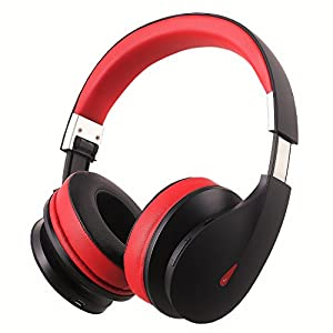 AUSDOM Wireless Bluetooth Headphones, On Ear Stereo Bass Over Ear Bluetooth Headsets with Built in Microphone for PC/ Cell Phones/ TV-AH2