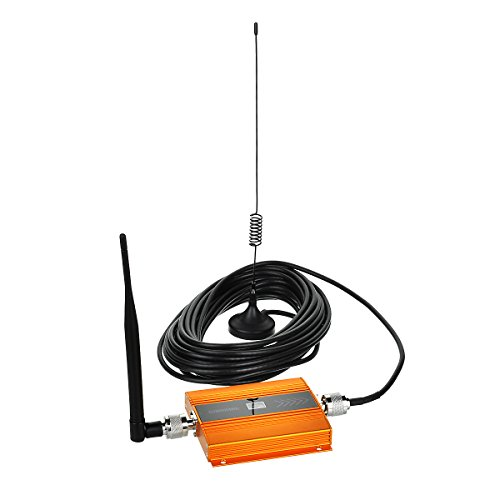 OLSUS Cell Phone Signal Booster for GSM and WCDMA 2G 3G 4G Amplifier Repeater applied with Indoor and Outdoor (Gsm Repeater)