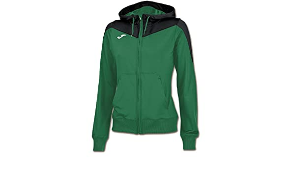 Joma Chaqueta Mujer Spike Verde-Negro - Chaqueta de chándal, Mujer ...