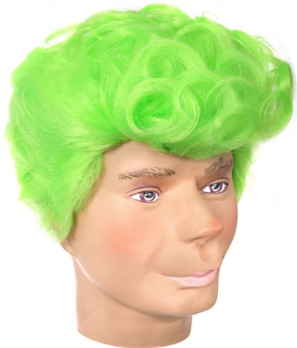 Mayor Fancy Dress Costume (Green Whoville Costume Wig)