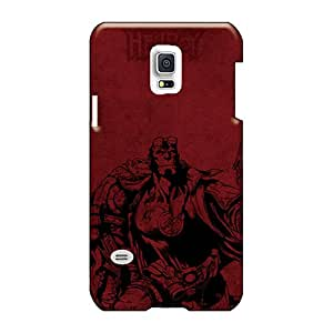 Icase88 Samsung Galaxy S5 Mini Great Hard Cell-phone cases for Happy Christmas and New Year Provide Private Custom Stylish Hellboy Poster Image [HkB10749aGuX]