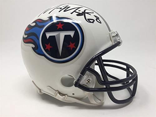 Marcus Mariota Autographed Signed Autograph Titans Mini-Helmet JSA Authentic ()