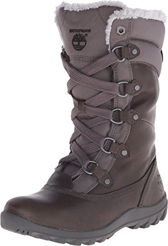 Timberland Women's Mount Hope Mid F/L WP Winter Boot, Dark Grey, 5.5 M US