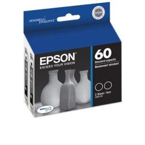 (2 X Epson T060120-D1 Double Pack - Print cartridges - 2 x black)