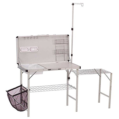 COLEMAN Portable Deluxe Pack-Away Camp Kitchen w/ Food Prep Area | 2000020275 --P#EWT43 65234R3FA684093 by Lisongin