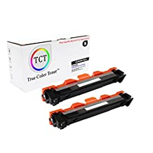 TCT Premium Compatible TN1060 Black Toner Cartridge 2 pack - 1K yield- works with the Brother HL-1110,1112,1212, MFC-1810,1815,1910, DCP-1510,1510,1512,1610,1612