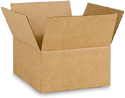 EcoBox 9 x 6 x 3 cm corrugado caja – 25 cajas (e-2875 – 25 ...