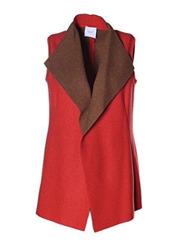 AGNONA - Manteau sans manche - Femme Rouge Red