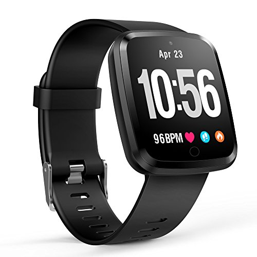Bluetooth Smart Watch, Bluetooth 4.0 Smart Band Bracelet Smart Activity Sports Fitness with Heart Rate Monitor Smartwatch for Android and iOS by CASETHRONE