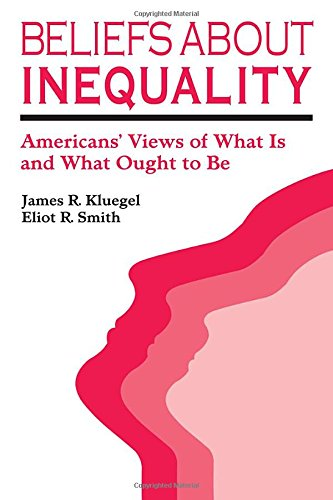 Beliefs About Inequality: Americans' Views of What Is and What Ought to Be (Social Institutions and Social Change)