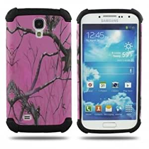 Multicolor Branch Pattern Protective Case For Samsung GALAXY S4 I9500 --- Color:White