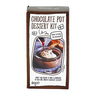 Lakeland Just Add Cream Chocolate Pot Dessert Mix, 60g