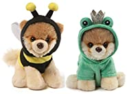 GUND Itty Bitty Boo Plush Bundle of 2, Frog and Bee