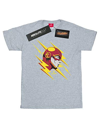 T Portrait Comics Sport Gris shirt Lightning Dc Flash Fille The Y1gqf