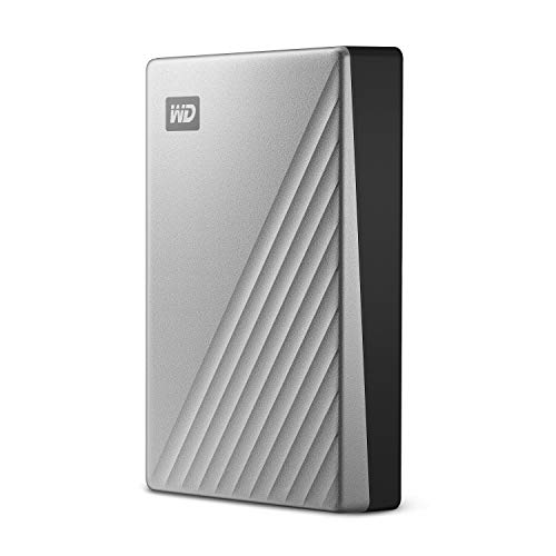 WD 4TB My Passport Ultra for Mac Silver Portable External Hard Drive, USB-C - WDBPMV0040BSL-WESN by Western Digital (Image #1)