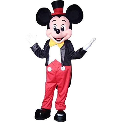 Mickey Mouse Clubhouse Suit Mascot Costume Party Character Birthday Halloween]()
