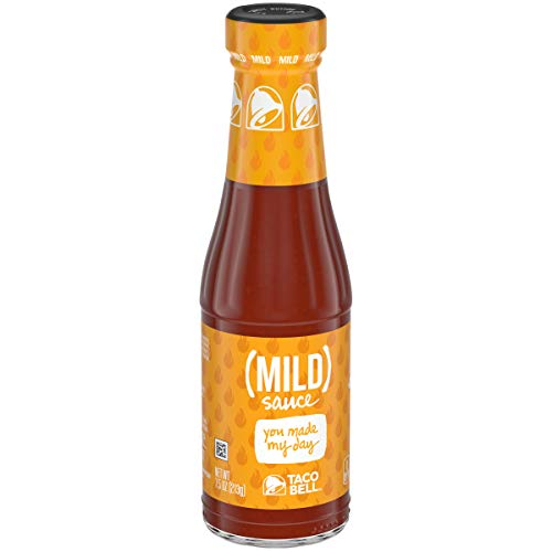 (Taco Bell Mild Sauce 7.5 oz. Bottle (Pack of two))