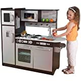 Innovative Kidkraft Uptown Espresso Kitchen (53260) With Convenient Storage Space Above The Sink Toy / Game / Play / Child / Kid by Toys4U