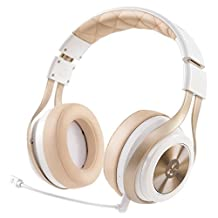 LucidSound LS30 Wireless Universal Gaming Headset (White) - PS4, Xbox One, PS3, Xbox 360, & Mobile Devices - White Edition