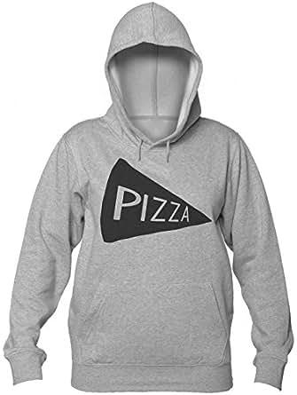 Pizza Slice Food Lover Speaker Sudadera con Capucha para Mujer Womens Hooded Sweatshirt Small
