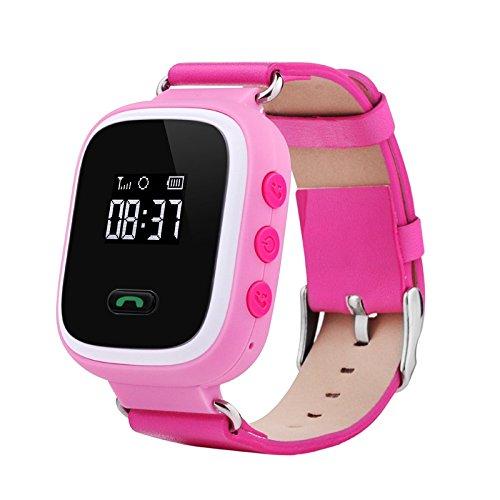 Smart Watch Kids, Hongtianyuan reloj GPS Tracker reloj de pantalla táctil para niños reloj inteligente