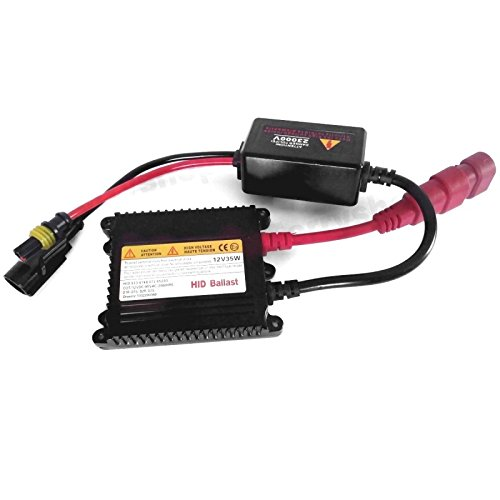 Centralina ricambio kit xenon 35 watt ultraa slim compatibile con H3-4 H4 H7