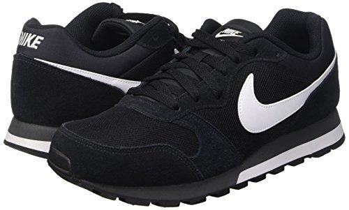 noir 010 Nike Anthracite Chaussure Blanc Runner 2 Md Noir Hommes Baskets avawg0