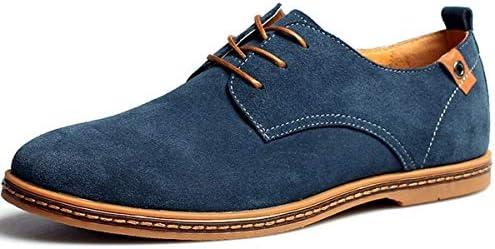 メンズ ビジネスシューズ 安全靴 作業靴 防滑 セーフティーシューズ 本革 革靴 紳士靴 ウィングチップ A109 (28.5cm, ブルー)