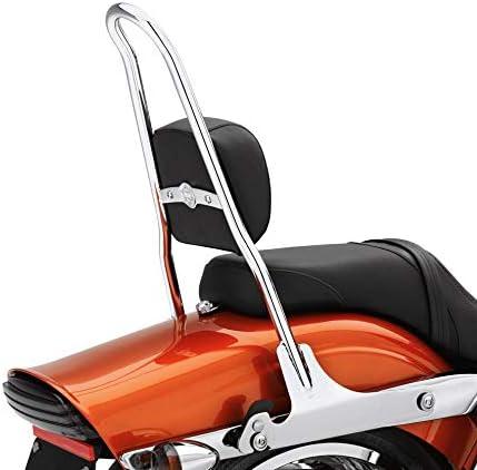 Heavy Duty Detachable Decorative Backrest Fits for Harley Touring Road King Street Electra Glide FLHT FLHX FLTR 09-20 Backrests Tall Sissy Bars