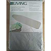 Moderate Use Ironing Board Cover With Pad Silver Silicone Coating