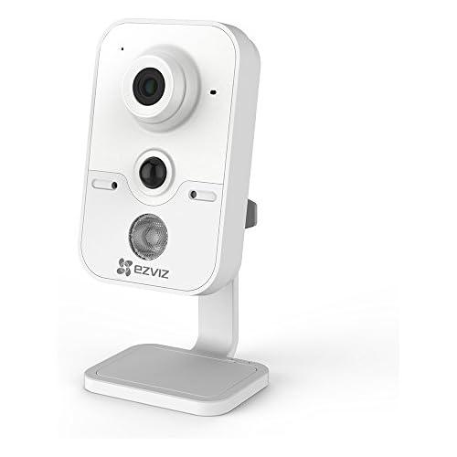chollos oferta descuentos barato EZVIZ C2Cube 720P HD WLAN IP Cámara de Seguridad 2 4Ghz Wi Fi Vídeo Cámara de Vigilancia Audio Bidireccional Visión Nocturna Monitor de Bebé Mascotas
