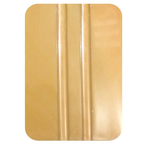x25 Gold Plastic Application Squeegees / Pack of 25 / Tool for applying Vinyl Lettering, Decals, Racing Stripes, Graphics, Wraps, Stickers, Window Tint / by 1060 Graphics.
