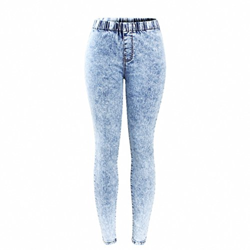 New Plus Size Ultra Stretchy Acid Washed Jeans Woman Denim Pants Trousers For Women Pencil Skinny Jeans Snow Wash L