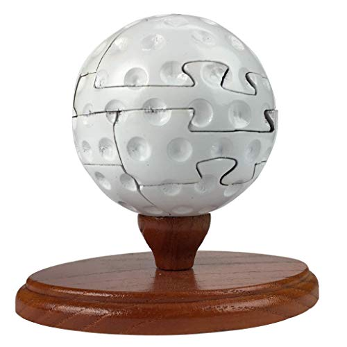 Project Genius US001 Ultimate Sports - Trivia Combination: Golf Brain Teaser Puzzle, Wooden