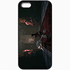 Personalized iPhone 5 5S Cell phone Case/Cover Skin Alice Madness Returns Black