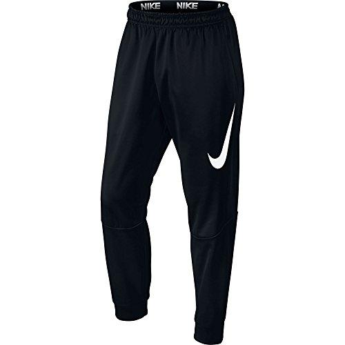 New Nike Men's Therma Training Pants Black/White Medium