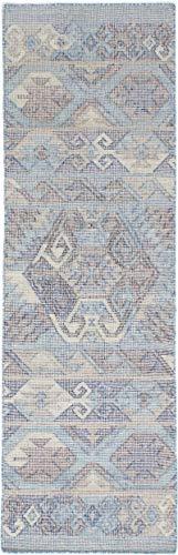 eCarpetGallery 261059 Kozak 17104 Area Rug 2'6 x 8'0 Sky Blue from eCarpet Gallery