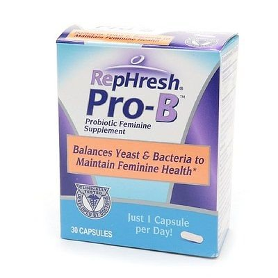 RepHresh Pro-B Probiotic Feminine Supplement, Capsules 30...