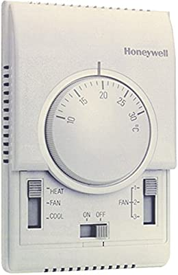 Honeywell; T6373B1015; Termostato XE-70, fan-coil a 2 tubos ...