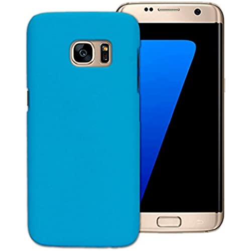 Tenworld Samsung Galaxy S7 Case Cover ! ! ! Clear View Mirror Flip Case Cover (Sky blue) Sales