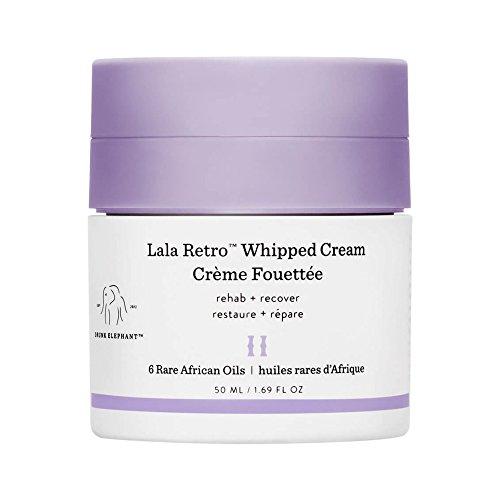 Drunk Elephant Lala Retro Whipped Cream - Anti-Aging Moisturizer for Dry Skin (4.69 fl oz)