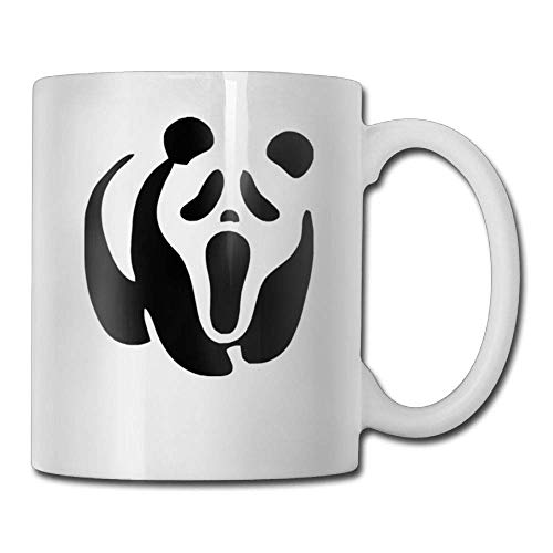 Comic Halloween Panda 11oz Ceramic Coffee Mug Unique Birthday Christmas and Inspirational Gift]()