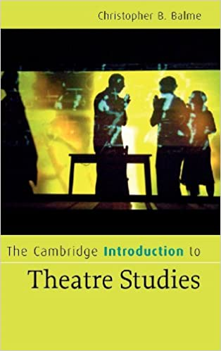 pay for theater studies literature review